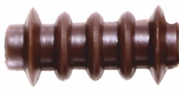 Isolator für Oberleitung Spur 0; Rillen-Isolator; 20 Stück